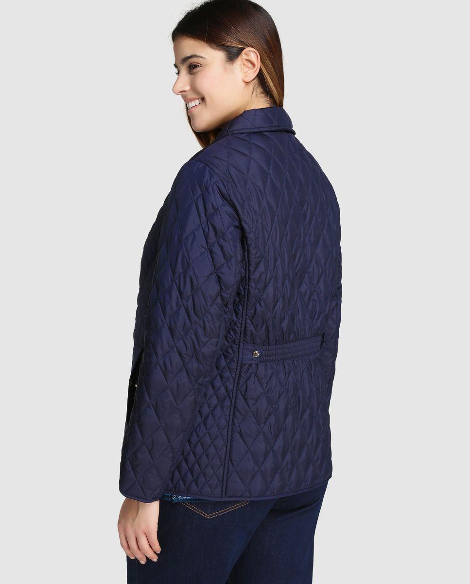 01cc3f85009 Chaqueta guateada de mujer talla grande Antea Plus en color azul marino ·  Antea Plus · Moda · El Corte Inglés