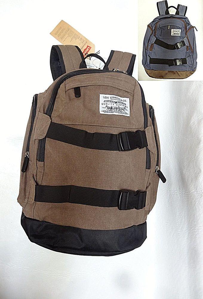 Levis mens 3072C02 ULSTER 19 Skate Laptop iPad Multiplex Backpack schoolbag  NEW  Levis  Backpack 48848a3808d7a