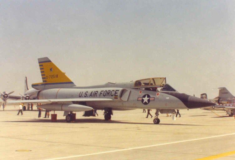 A Convair F 106b Delta Dart Of The 460th Fis Fighter Aircraft Fighter Jets Air Fighter