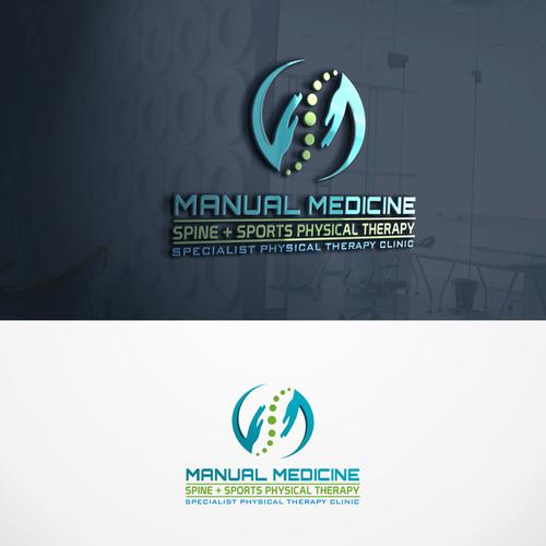 Runner Up Design By Becha Studio Chiropractic Logo Clinic Logo Logo Design