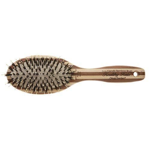 bambus hårbørste