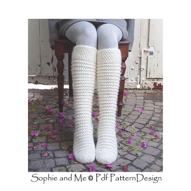 North Pole Socks pattern by Sophie and Me-Ingunn Santini | CROCHET ...