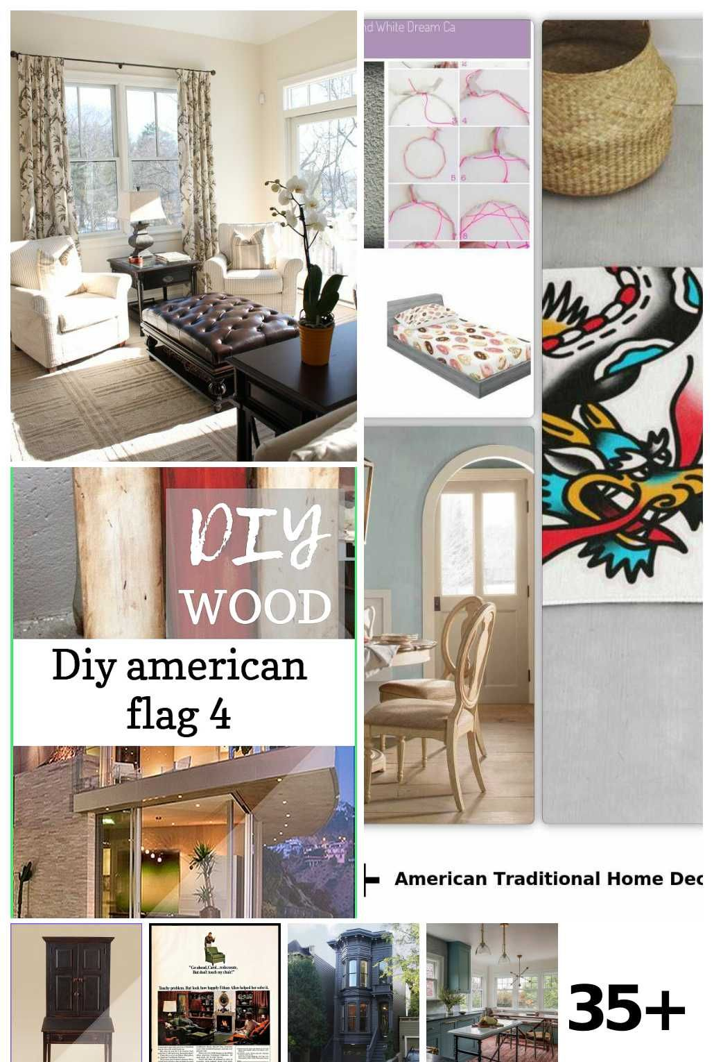 35 American Traditional Home Decor Ideas In 2020