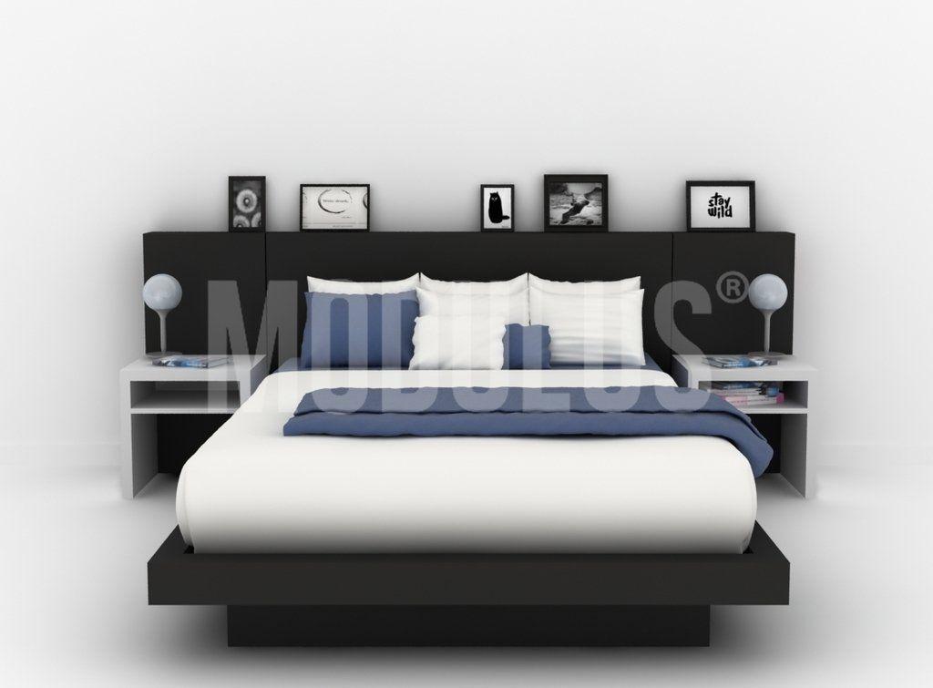 Juego de dormitorio dise o moderno minimalista casa - Camas diseno moderno ...
