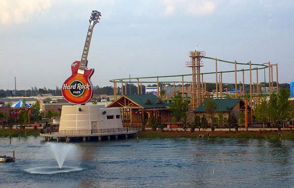 Attraction Hard Rock Park Theme