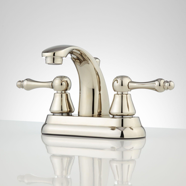 Genial Alquist Centerset Bathroom Faucet   Polished Nickel