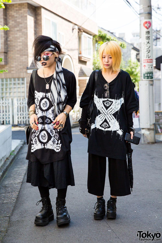 1a24b96df7f6 dark   goth   punk   alternative ... Barokue (left