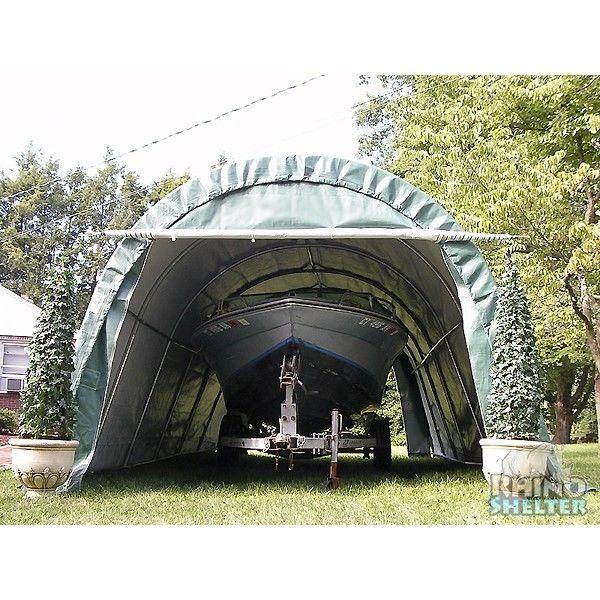 Portable Instant Garage Carport Shelter Original Rhino