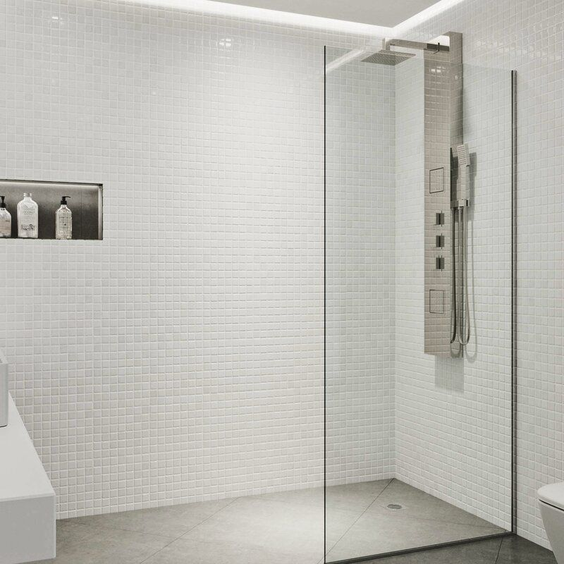 Corian Shower Bath Wall In Rain Cloud Seamless Installation Corian Shower Walls Shower Bath Shower Wall
