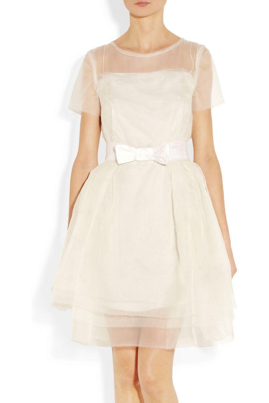 Lanvin Layered Silk Organza Dress Net A Porter Com Silk Organza Dress Dresses Beautiful Dresses [ 1380 x 920 Pixel ]