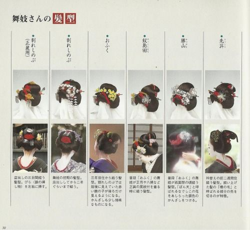 Maiko Hairstyle