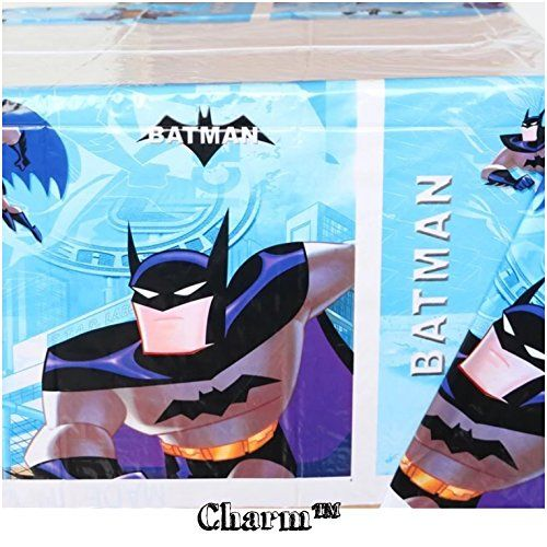 Batman Birthday Party Batman Set of 2 Party Tablecloths Plastic 42