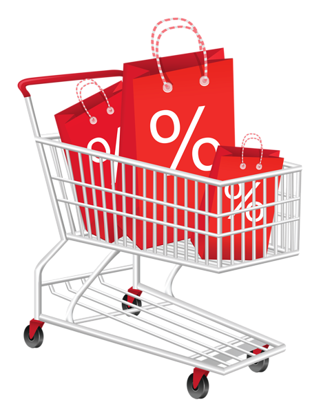 41++ Shopping cart clipart pink information