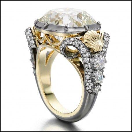 Little Mermaid Wedding Ring