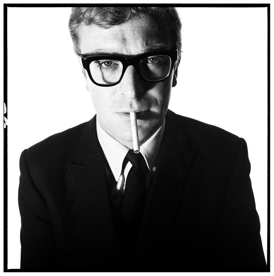 David Bailey, Michael Caine, 1965