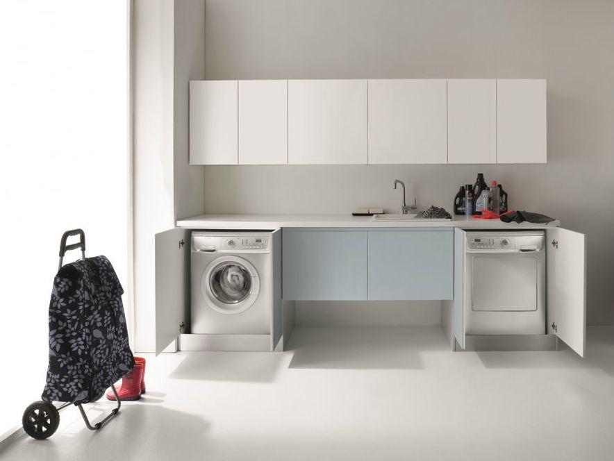 Waschküche Möbel idrobox waschküche schrank mit türen by birex bad und waschküche