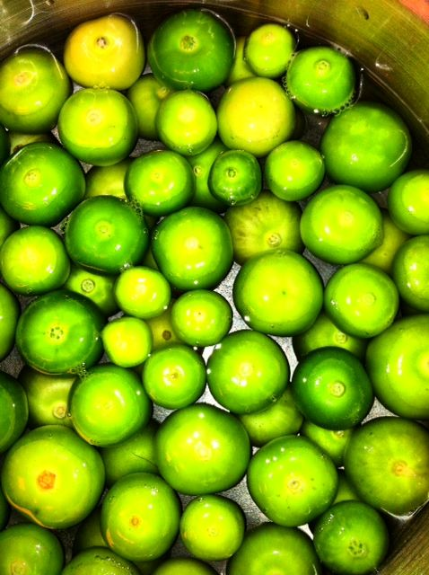 Tomatillos bought at the farmers market in San Antonio