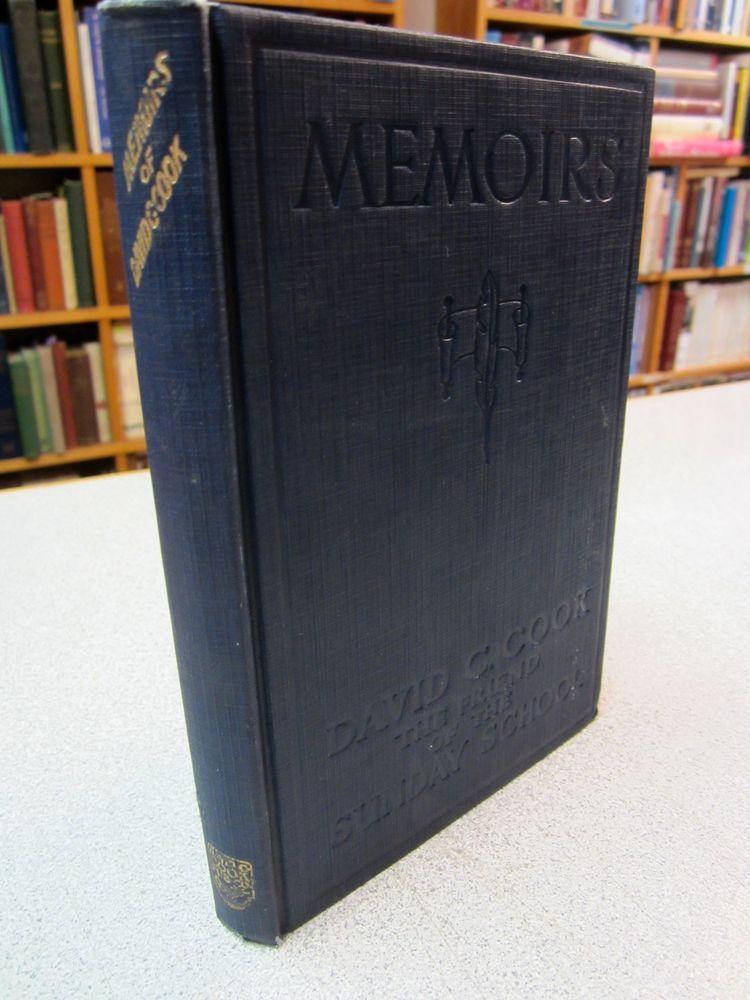 1929 Memoirs David C Cook Illustrated The Friend Of Sunday School