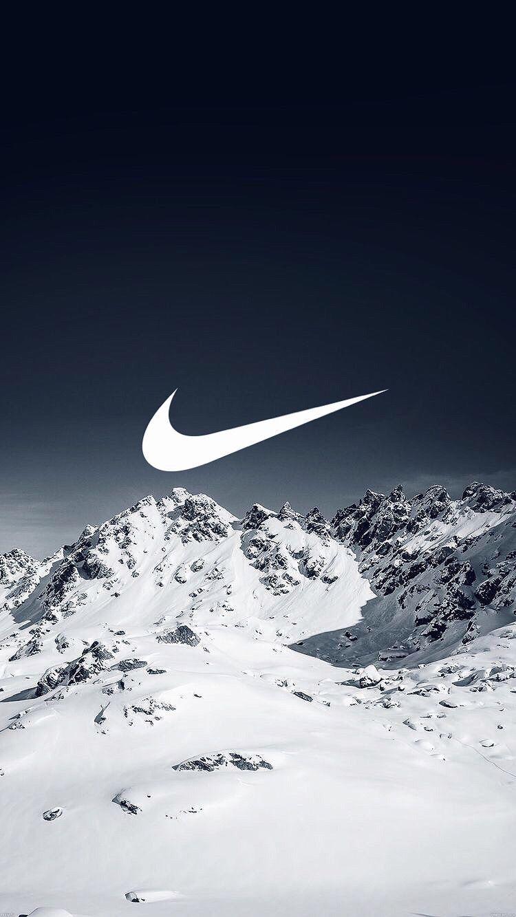 Nike En Plein Detente A La Neige En 2019 Fond Ecran Nike