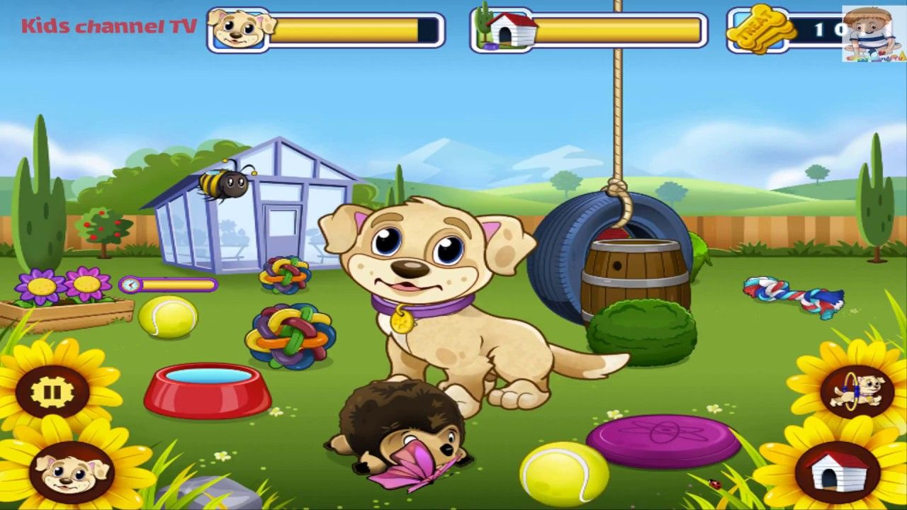 My Puppy Play Day Fun Pet Care Kids Game