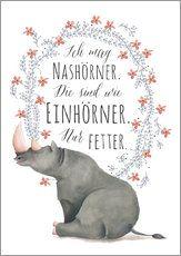 Nashorn Einhorn