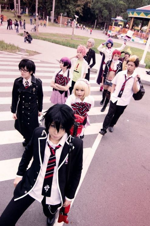 Group Blue Exorcist Ao No Cosplay
