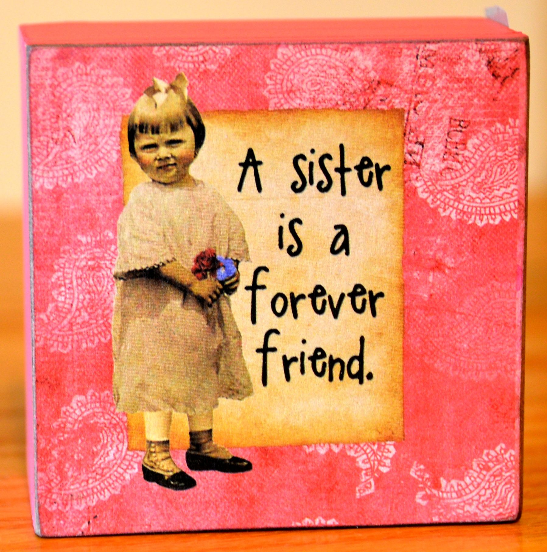 Fun sister quotes and fun art for the wall. | Off The Wall ...