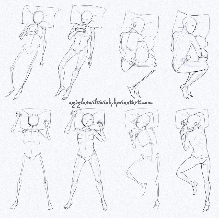 Self Practice Sleeping By Azizlaswiftwind Sleeping Drawing Art Reference Poses Human Anatomy Art