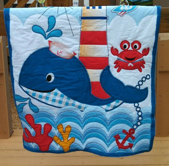 Check out this item in my Etsy shop https://www.etsy.com/listing/236131082/ocean-friends-quilt