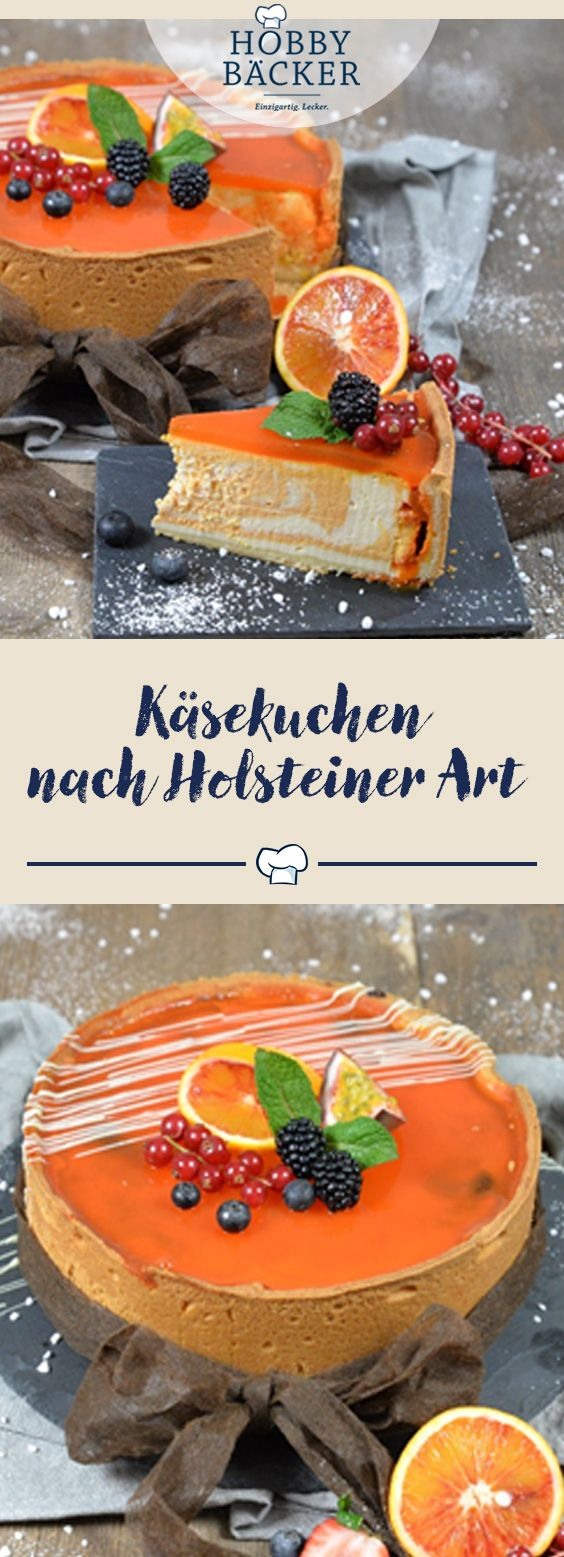 Holsteiner Kasekuchen Mit Sanddorn Rezept In 2018 Kuchen Rezepte