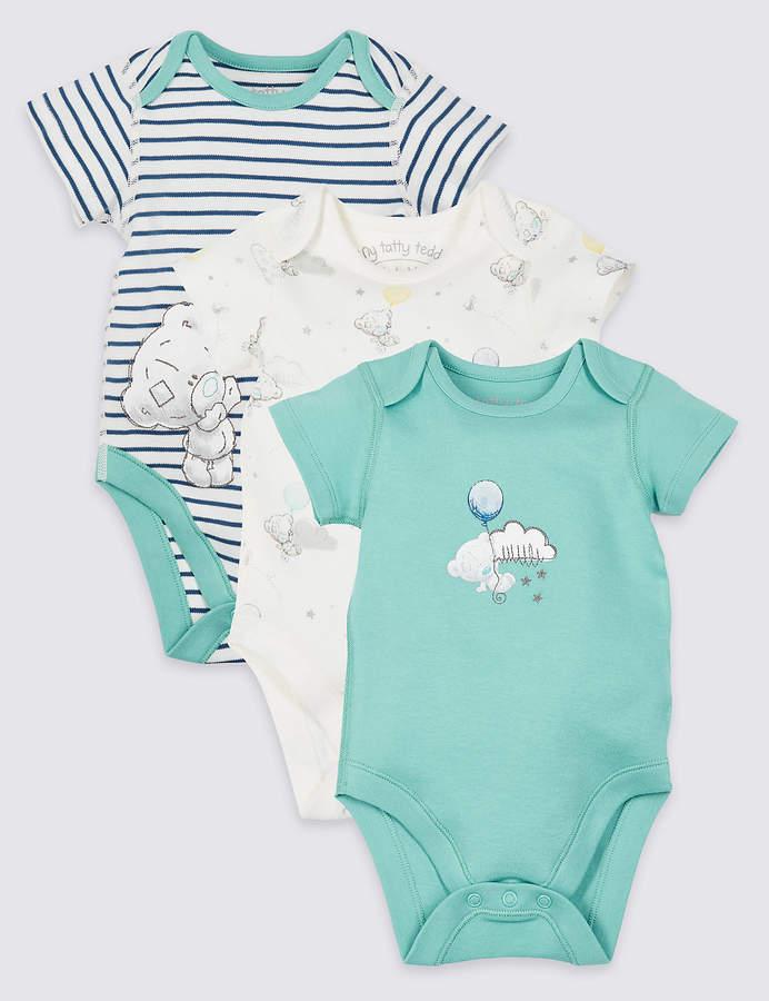 Care Baby Boys Bodysuit Pack of 3