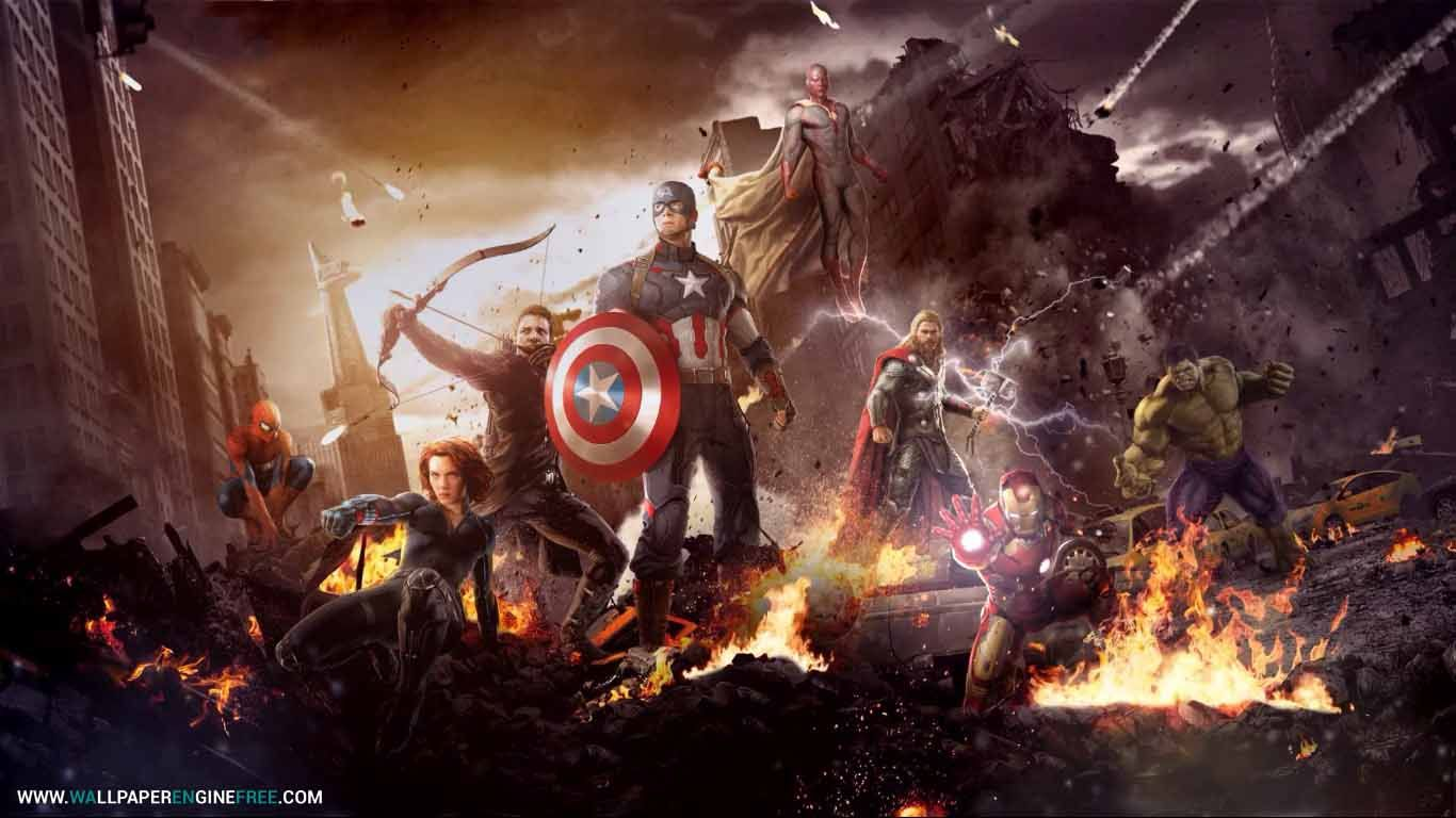 The Avengers Wallpaper Engine Free Super Heros Wallpaper Engine