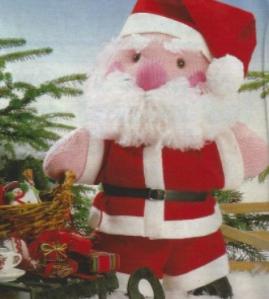 Père Noël Tricot Et Couture Tuto Gratuit Diy Couture