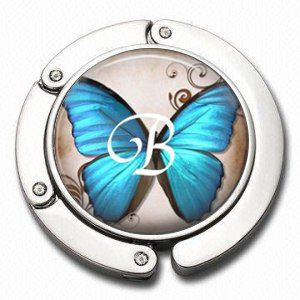Personalized Folding Purse Hanger  Butterfly by NowThatsCharming, $15.99