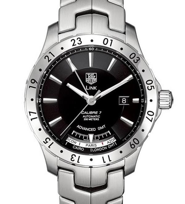 TAG Heuer Link Calibre 7 Advanced GMT Watch | Crazy about ...