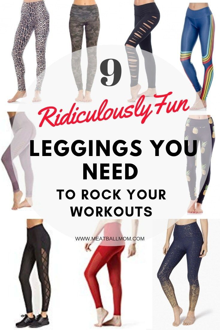 These amazing leggings will have you excited to rock your workout this year! #workoutclothes #yoga #...