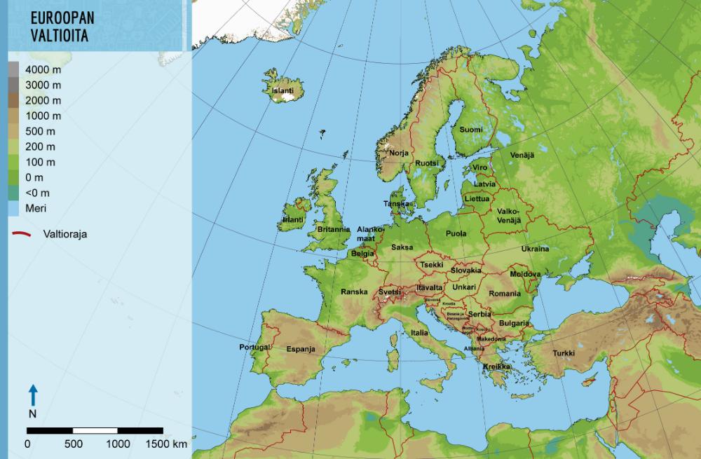 Euroopan Vuoret