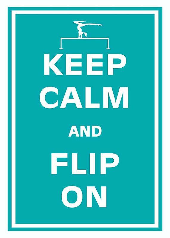 KEEP CALM AND Do Gymnastics Poster | Rose | Keep Calm-o-Matic  |Keep Calm Gymnastics