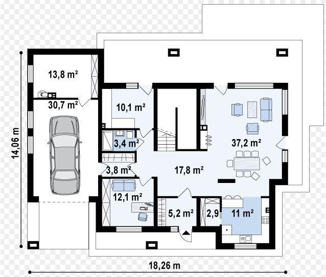 planos de casas 150 metros cuadrados