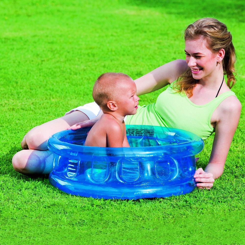 """51112 Bestway D25""""xH10""""/64cmxH25cm Kiddie Pool with 3 Air"""