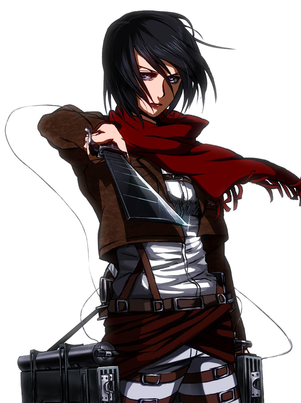 Mikasa Ackerman by アジ Attack on titan, Anime, Mikasa