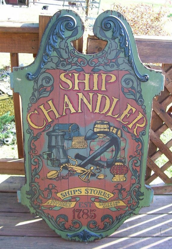 sale large antique nautical ship chandler by