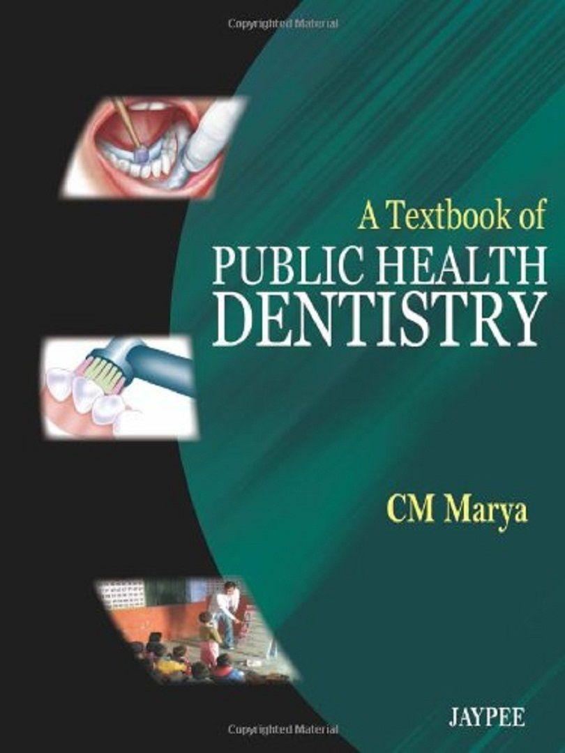 A Textbook Of Public Health Dentistry Pdf Dentistry Public