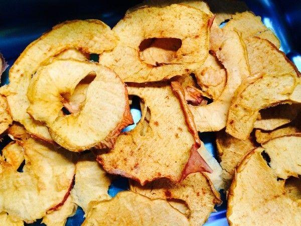 November-Zvieri: Zimt-Apfel-Chips - Schweizer Familienblog: DIE ANGELONES