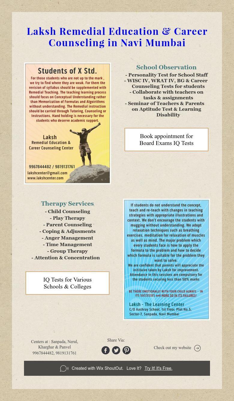 Laksh Remedial Education & Career Counseling in Navi