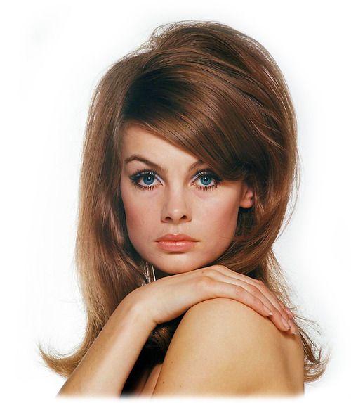jean shrimpton Jean shrimpton, Cheveux des années 1960