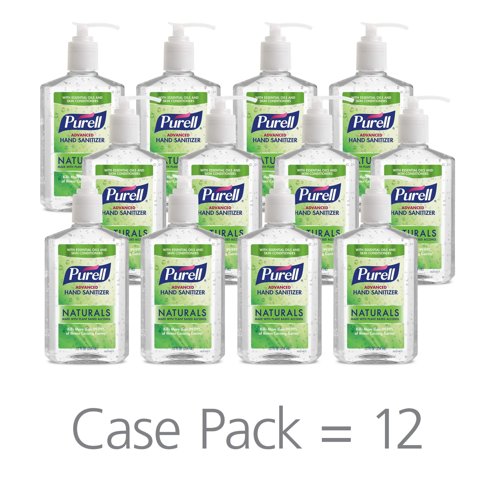 Purell Naturals Advanced Hand Sanitizer Gel With Skin