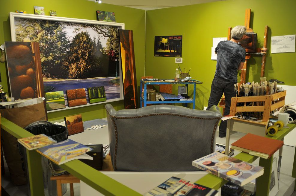 Artist Studio - Ross Penhall