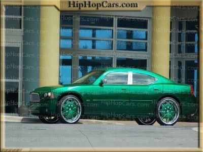 Pimped Out Dodge Charger Money Green On Green