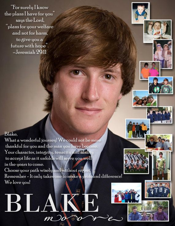 Custom Designed Senior School Yearbook Ad Full Page With Images